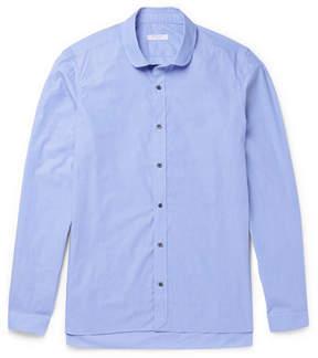 Boglioli Penny-Collar End-On-End Cotton Shirt