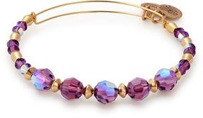 Alex and Ani Sugarplum Beaded Bangle with Swarovski® Crystals