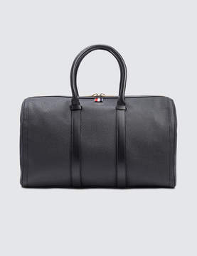 Thom Browne Tumbled Calf Leather Unstructured Holdall Bag