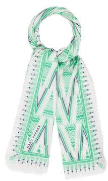 Marc Jacobs Printed Multicolor Scarf