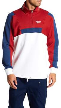Reebok Colorblock 1/4 Zip Pullover