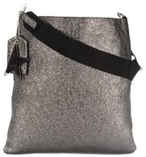 Golden Goose Deluxe Brand Women's Silver Leather Shoulder Bag.