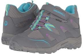 Merrell Hilltop Mid Quick Close Waterproof Girls Shoes