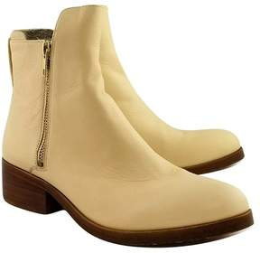 3.1 Phillip Lim Cream Ankle Leather Booties