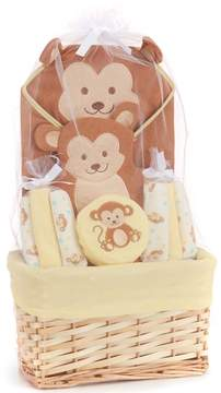 Starting Out Baby Boys Monkey Bath Gift Set