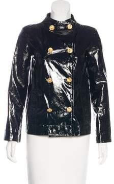 Chanel 2016 Paris-Rome Leather Jacket