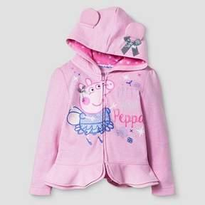 Peppa Pig Toddler Girls' Sweatshirt - Pink