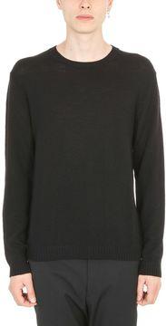 Jil Sander Rib-knit Black Pullover