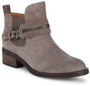Gentle Souls Women's Round Toe Leather Booties