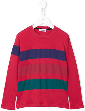 Familiar striped crew neck jumper