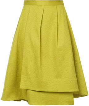 ESTNATION layered high-waisted skirt