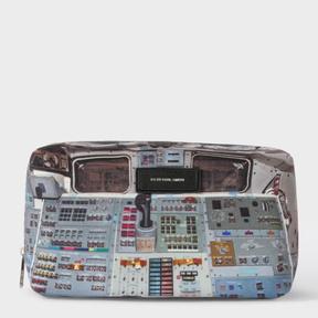 Paul Smith Men's 'Space Shuttle' Print Wash Bag