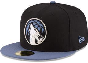 New Era Minnesota Timberwolves 2 Tone Team 59FIFTY Cap
