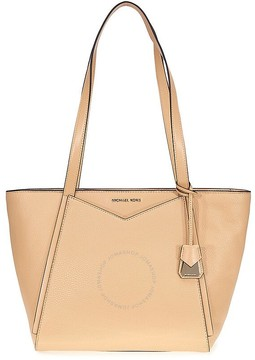 Michael Kors Whitney Small Leather Tote- Butternut - ONE COLOR - STYLE