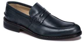 Bugatchi Men's Apron Toe Penny Loafer
