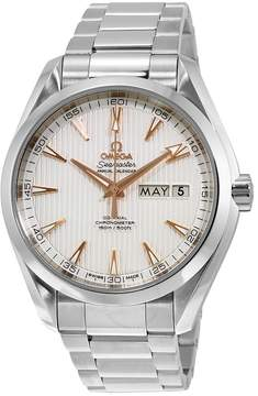 Omega Aqua Terra Co-Axial Annual Calendar Automatic Silver Dial Stainless Steel Men's Watch