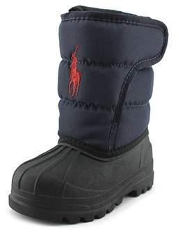 Polo Ralph Lauren Hamil Ten Ii Toddler Round Toe Canvas Snow Boot.
