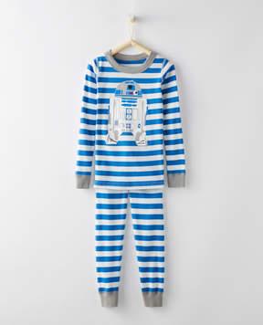 Hanna Andersson Star Wars Long John Pajamas In Organic Cotton
