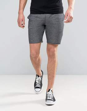 Pull&Bear Jersey Shorts In Gray
