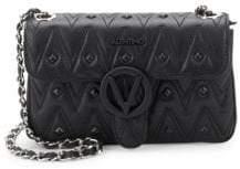 Mario Valentino Poison Studded Leather Crossbody Bag