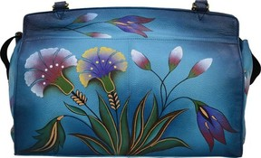 Anuschka Anna By ANNA by Hand Painted Leather Large Satchel 8077 (Women's)