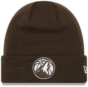 New Era Minnesota Timberwolves Fall Time Cuff Knit Hat
