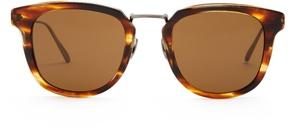 Bottega Veneta D-frame titanium sunglasses