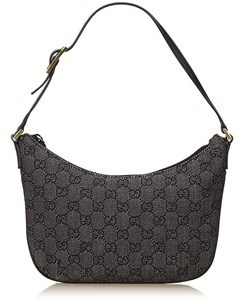 Gucci Pre-owned: Jacquard Gg Shoulder Bag. - BLACK - STYLE