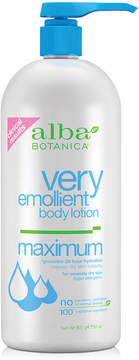 Alba Very Emolient Body Lotion Maximum by 32oz)