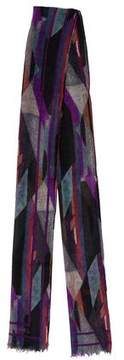 Chanel Cashmere & Silk-Blend Scarf