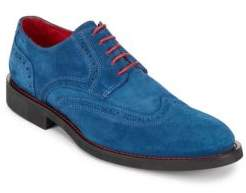 Bugatchi Suede Wingtip Oxfords