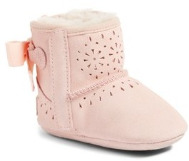 UGG Infant Girl's Jesse Bow Ii Sunshine Perforated Bootie