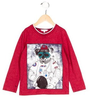 Little Marc Jacobs Boys' Graphic Print Long Sleeve Shirt