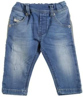 Diesel Denim Effect Cotton Sweatpants