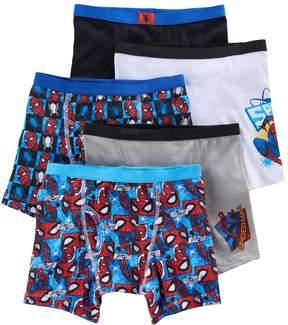 Spiderman Kohl's Boys 5-Pack Boxer Briefs