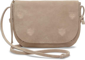 Toms Taupe Suede Venice Crossbody