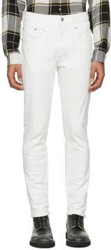 R 13 White Boy Skinny Jeans