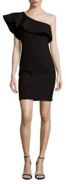 Alexia Admor One Shoulder Ruffle Mini Dress
