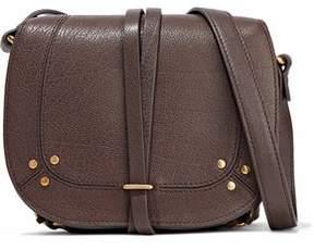 Jerome Dreyfuss Chain-Embellished Leather Shoulder Bag