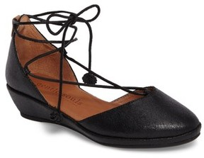 Gentle Souls Women's Nerissa Ghillie Wedge