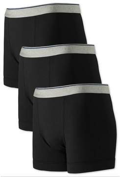 Charles Tyrwhitt Black Jersey 3 Pack Trunks Size XL