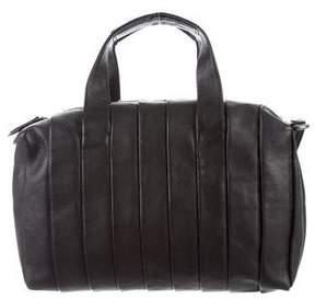 Reed Krakoff Pleated Leather Satchel