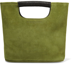 Simon Miller - Birch Mini Nubuck Tote - Green