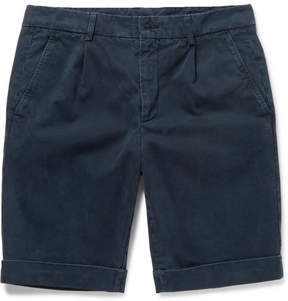 Aspesi Cotton-Twill Chino Shorts