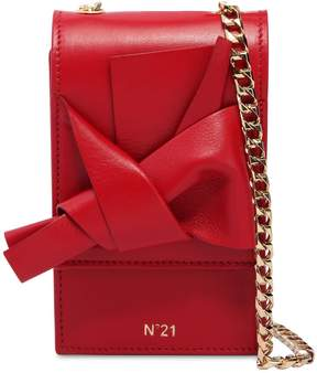 N°21 Micro Bow Nappa Leather Shoulder Bag