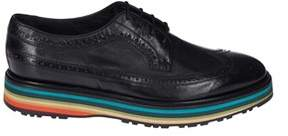 Paul Smith Men's Black Leather Lace-up Shoes.
