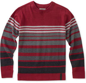 Calvin Klein Marled Stripe Cotton Sweater, Big Boys (8-20)