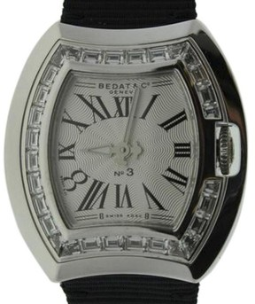 Bedat & Co 324.530.100 White Gold & Diamonds Bezel 30mm Womens Watch