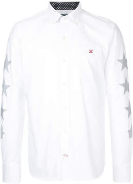 GUILD PRIME star print collared shirt