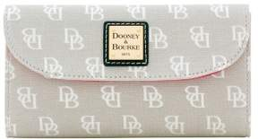 Dooney & Bourke Madison Signature Continental Clutch Wallet - GREY - STYLE